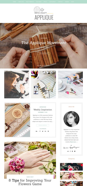 Applique - A Beautiful Art & Craft Theme
