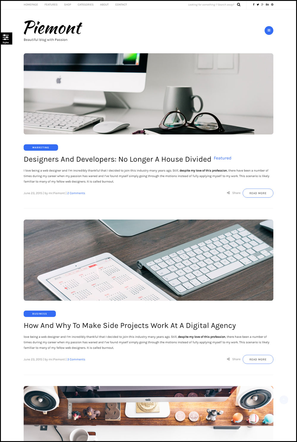 20+ Best WordPress Themes for Technology Blogs