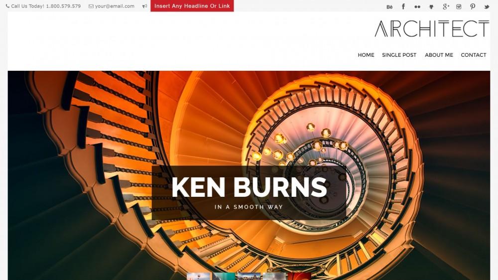 Architect - A Modern WordPress Blog Theme