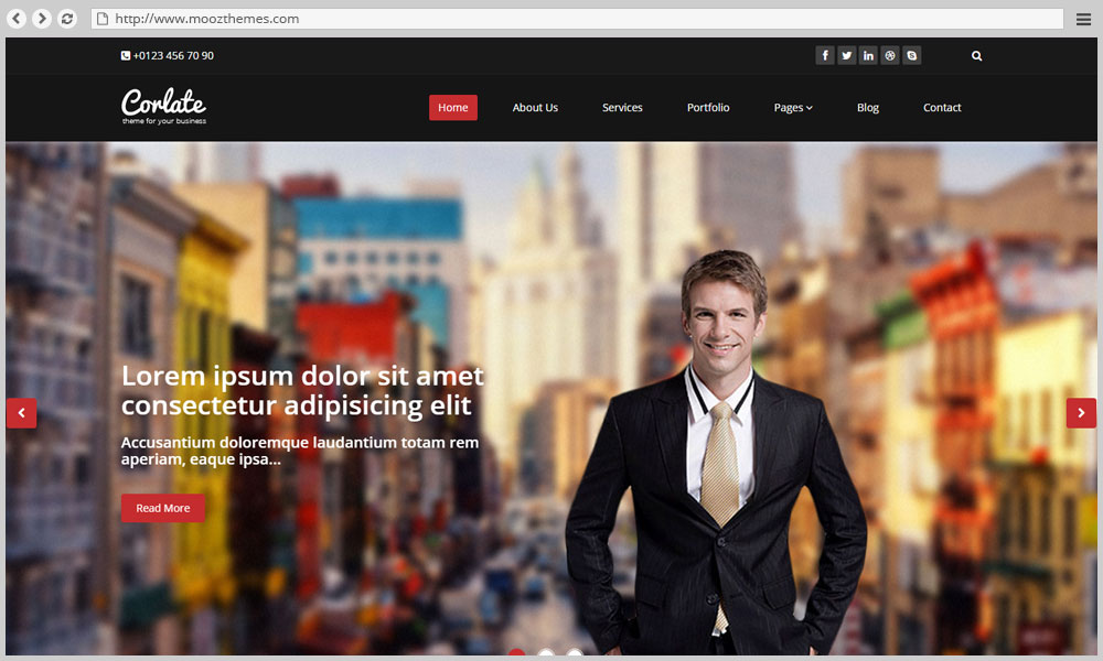 Html templates for business corporate portfolio and agency websites