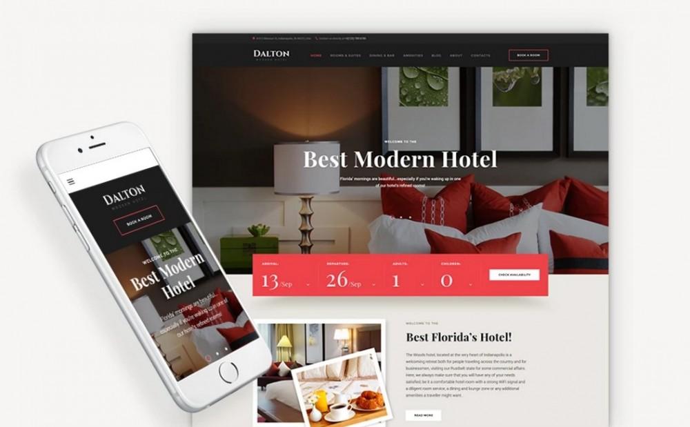 Dalton – New and Powerful Hotel & Resort WordPress Theme