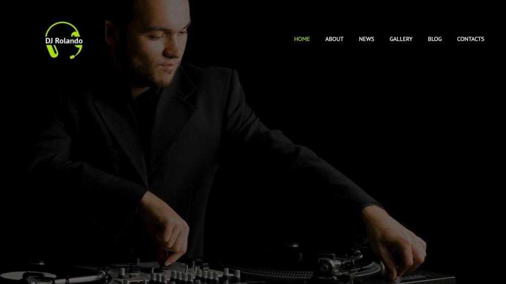 DJ Rolando – Responsive WordPress DJ Theme
