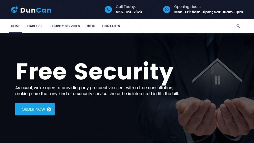 Security Agency WordPress Themes