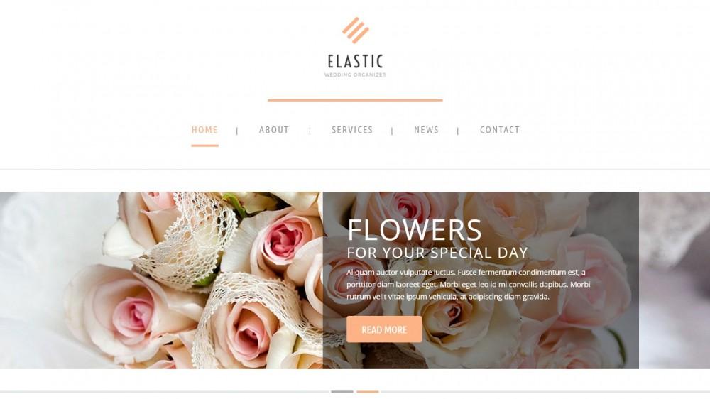 Elastic - Wedding WordPress Theme