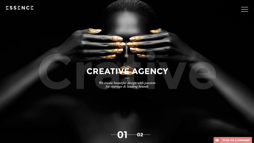 Essence - Creative & Light Portfolio WordPress Theme