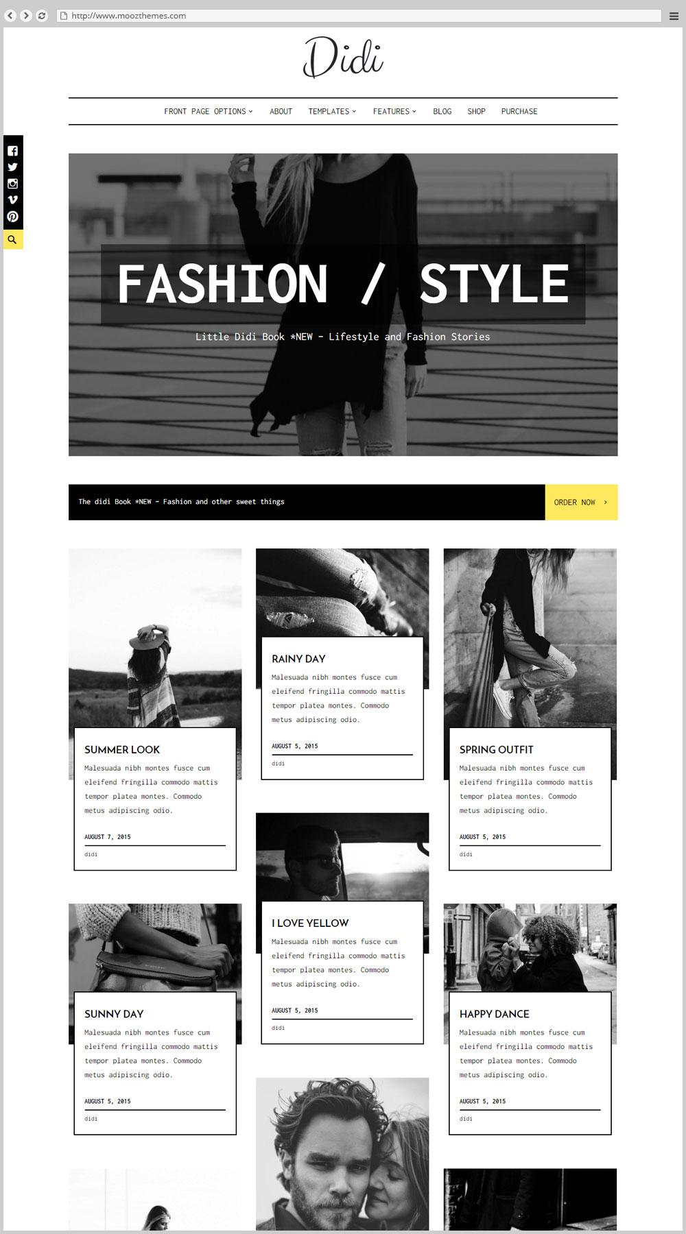 how to create a fashion blog on wordpress
