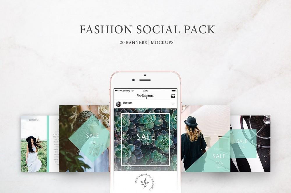 Fashion Social Pack