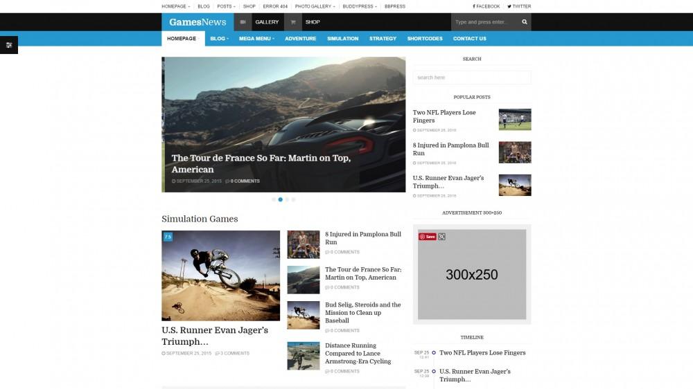 FastNews — Multipurpose Magazine/Blog Theme