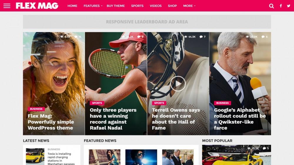 Flex Mag - WordPress News Theme