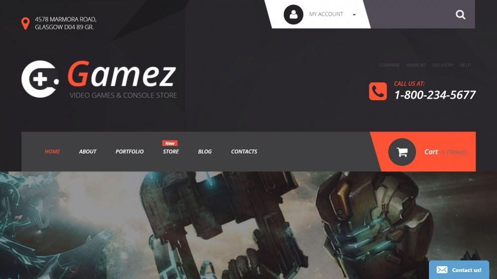 Gamez WooCommerce