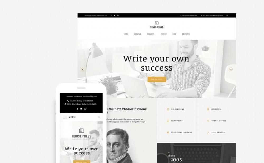 House Press – Amazing Publishing Company WordPress Theme