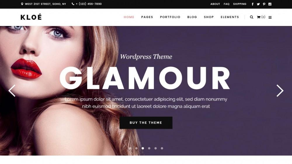 Kloe - Beautiful & Fresh Looking Lifestyle Multi-Purpose Theme