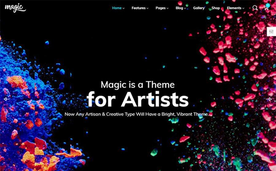 Magic – Colorful and Multipurpose WordPress Theme