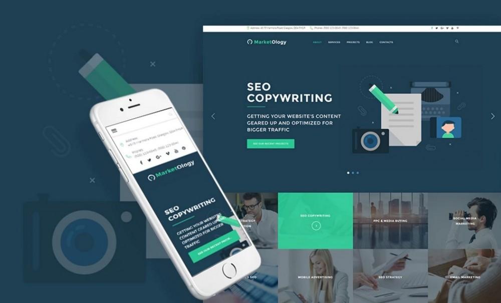 MarketOlogy – Impressing SEO and Marketing Agency WordPress Theme