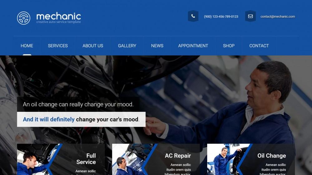 Mechanic WP
