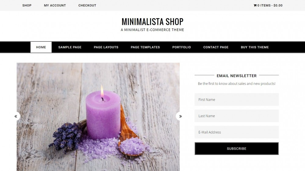 Minimalista Shop