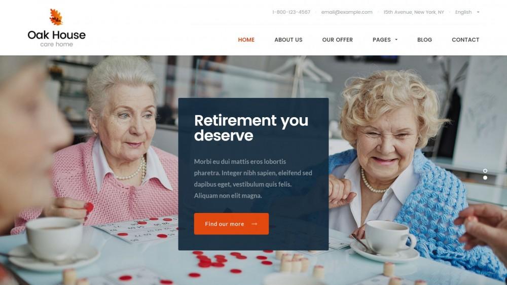 10+ Lovely WordPress Themes for Health, Elderly & Senior Care Websites