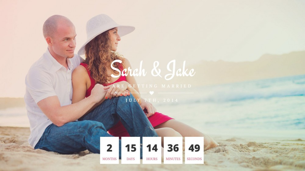 Perfect Couple - Elegant & Clean Design Wedding WordPress Theme