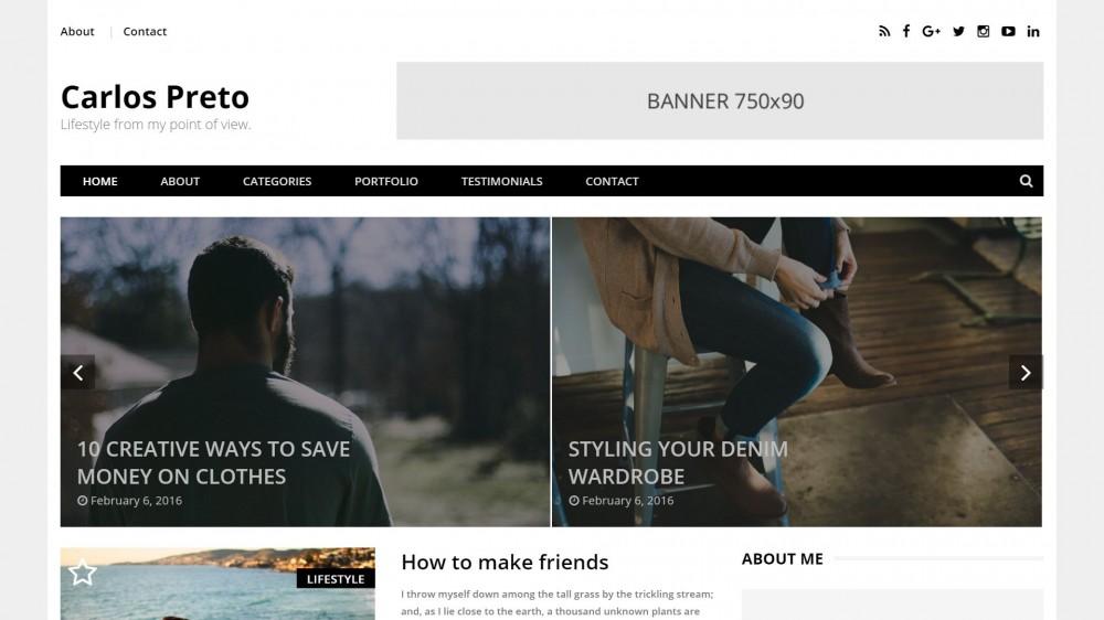 Preto - Classic WordPress Blog & Portfolio Theme