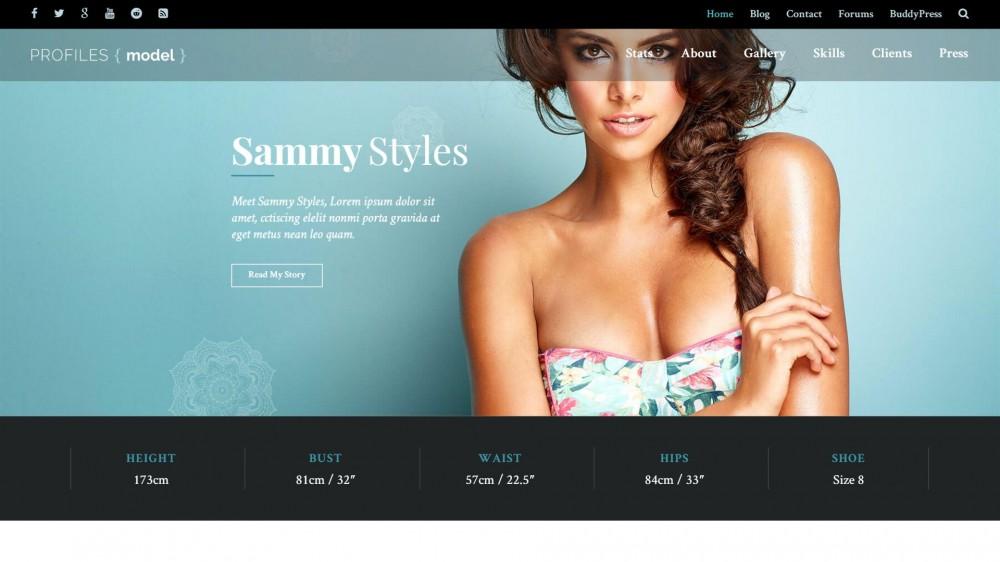Profiles - Responsive Business WordPress Theme