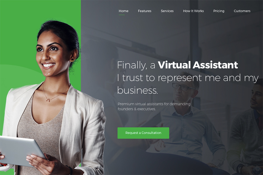 Revirta - Virtual Assistant WordPress Theme