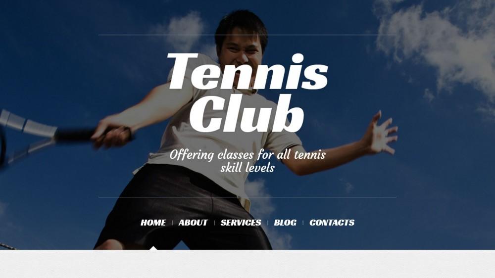 Tennis Responsive