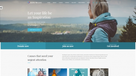 Beautiful Charity, Nonprofit & Fundraising WordPress Themes