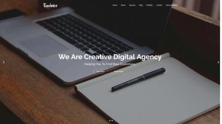 20+ Modern Flat Design WordPress Themes For Business, Portfolio And Agencies 2018