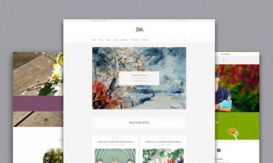 WordPress Themes for Gardening, Houseplants and Landscape Design