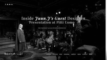 Model Photo Portfolio & Model Agency WordPress Themes
