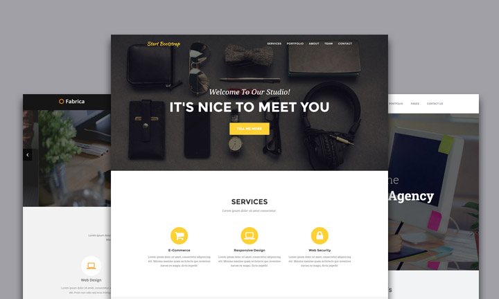 Best bootstrap html templates for business corporate portfolio and best bootstrap html templates for business corporate portfolio and agency websites friedricerecipe Gallery