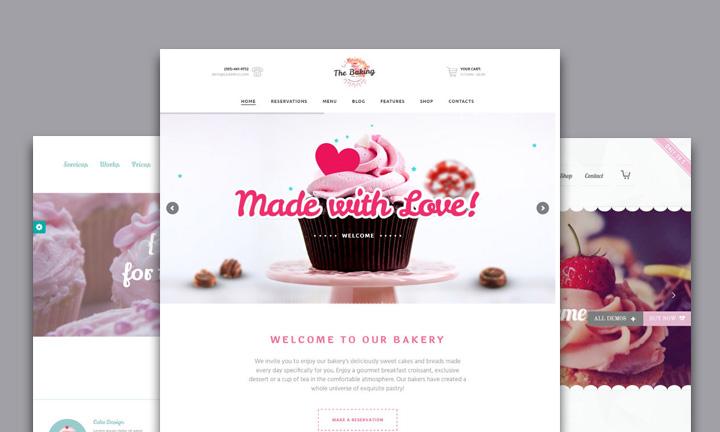 25+ Fabulous WordPress Themes for Cake Shops