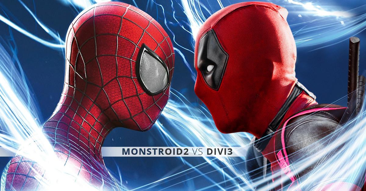 Brands Battle: Monstroid2 vs Divi3