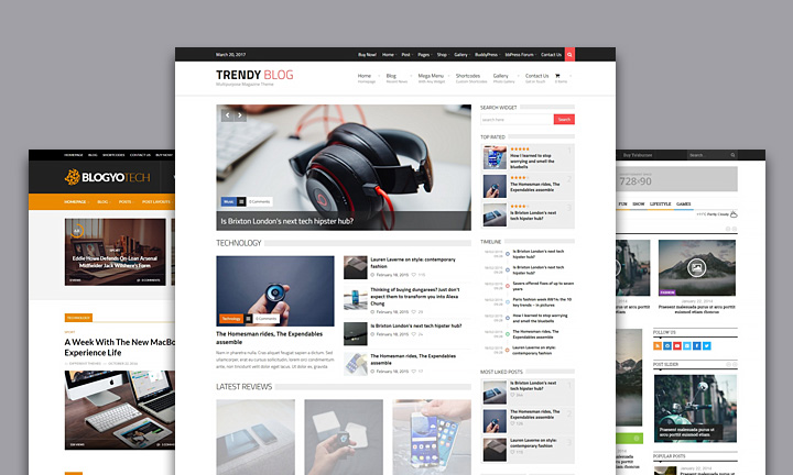 Multipurpose Magazine WordPress themes with Drag and Drop Page Builder