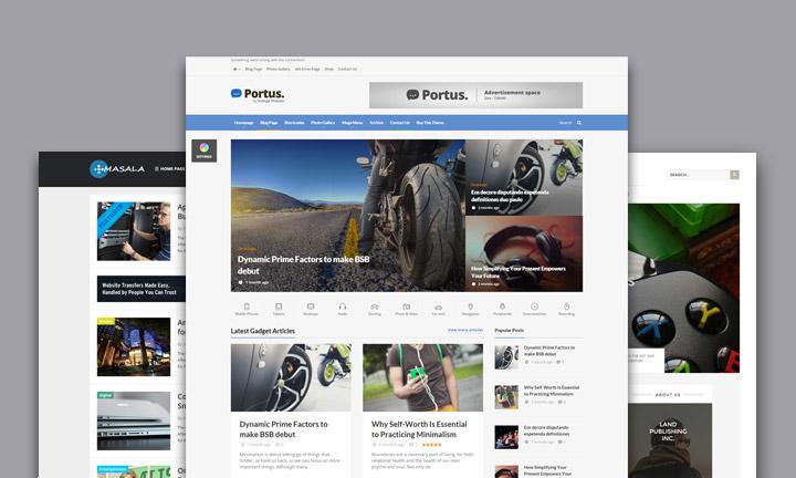 25+ Best WordPress Themes for Tech & Gadgets Blogs