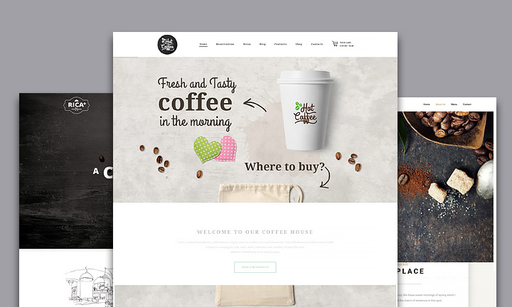 30+ Awesome WordPress Themes for Coffee Shops, Cafeterias and Coffee Roasteries