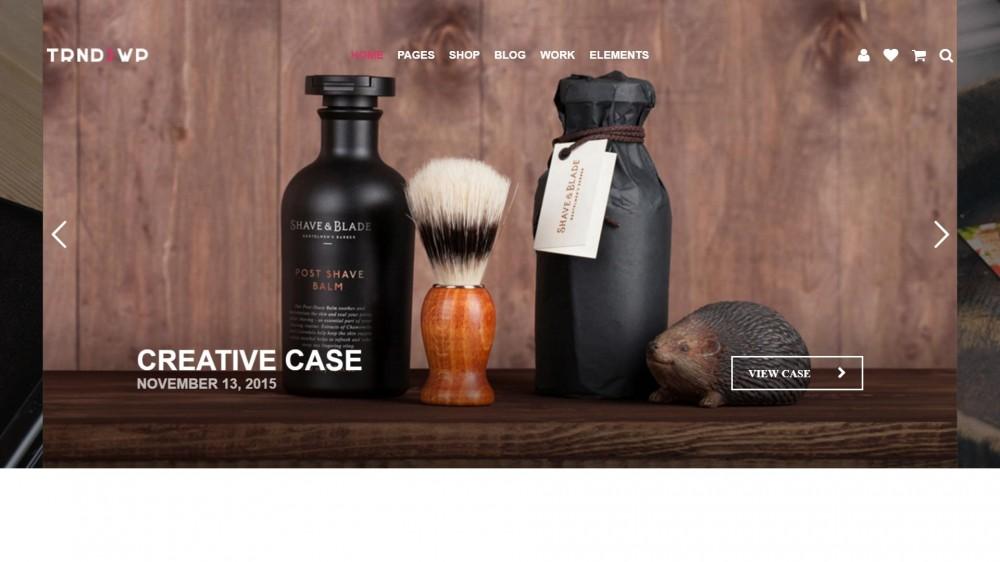 Trendy - Creative & Modern Multi-Purpose WordPress Theme