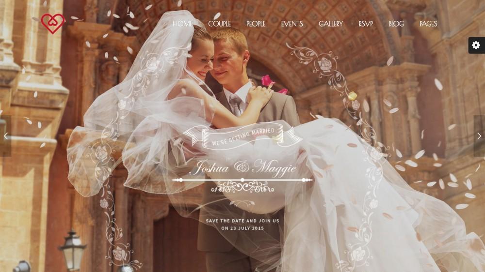 Wedding Suite - Elegant WordPress Wedding Theme