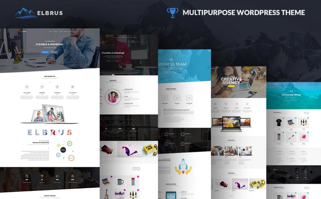 Awesome Selection of 20 Most Popular Themes for Startup and Small Business