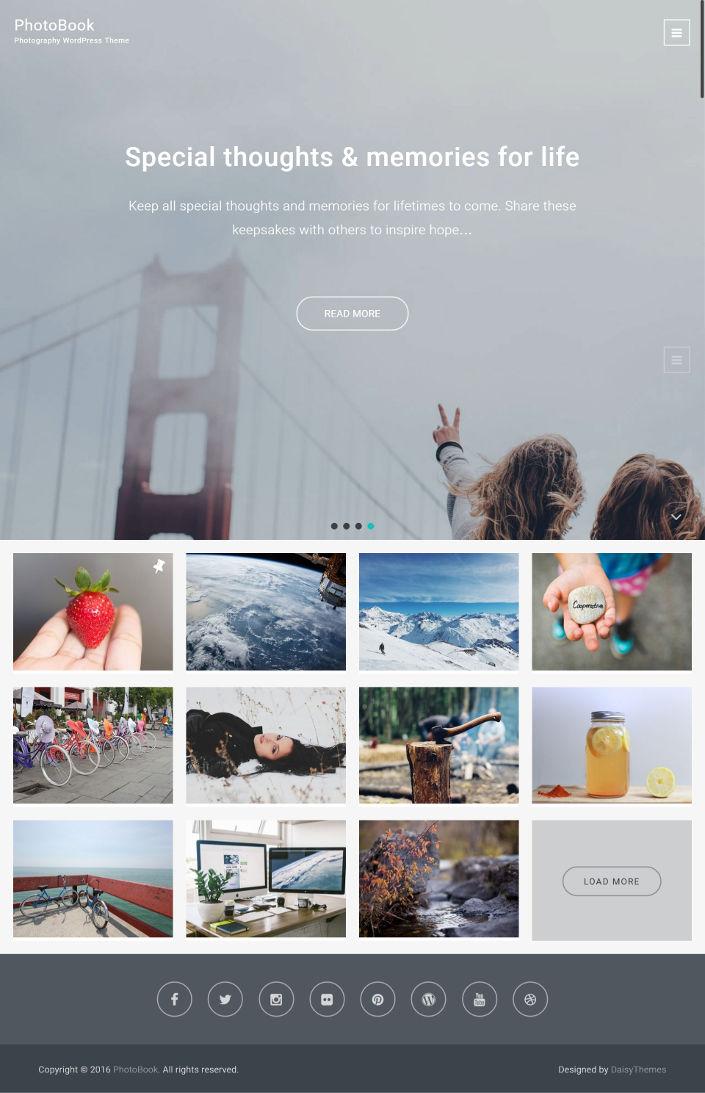 25 Free Wordpress Themes For Photographer Photo Blog Or