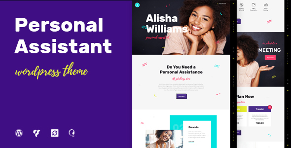 A.Williams | Personal Assistant & Administrative Services WordPress Theme