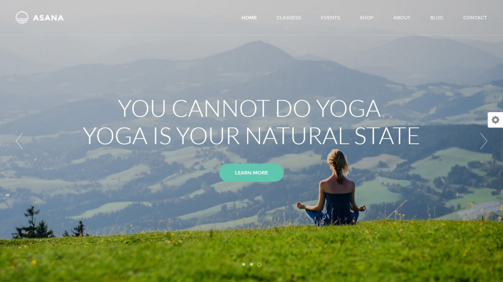 Asana - Sport & Yoga WordPress Theme