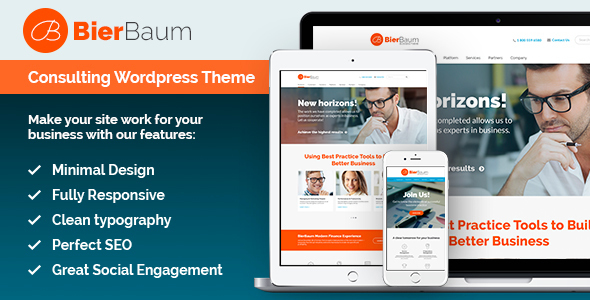 BierBaum | Business Consulting Agency WordPress Theme