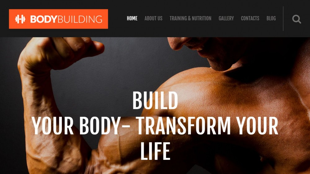 BodyBuilding – Fitness Responsive WordPress Theme
