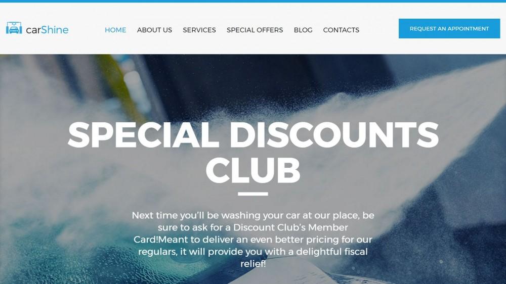 Professional Car Wash WordPress themes