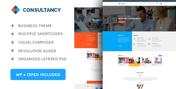 Consultancy | Consultancy & Business WordPress Theme