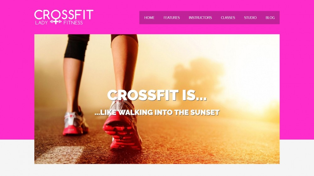 Crossfit - Sport & Gym WordPress Theme