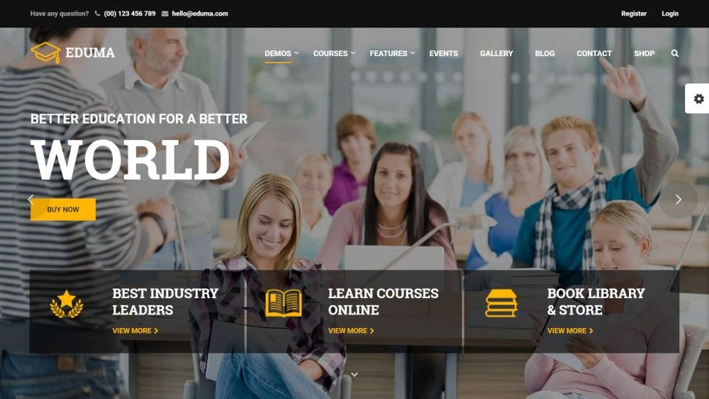 Awesome Education Wordpress Themes For Schools Online Courses And