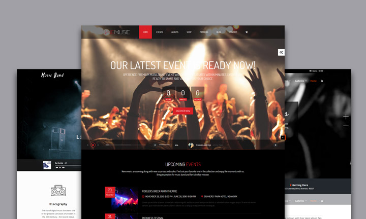 20+ Music WordPress Themes for Music Festivals, Live Concerts & Music Bands