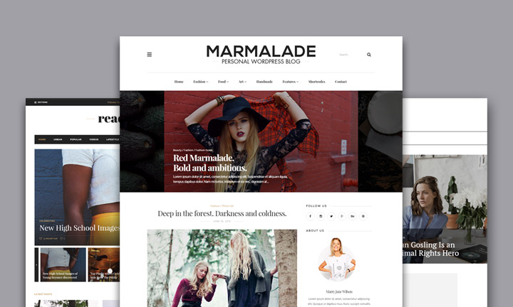 Gorgeous WordPress Themes For Girly Blogs, Fashion Magazines and eCommerce Websites 2019